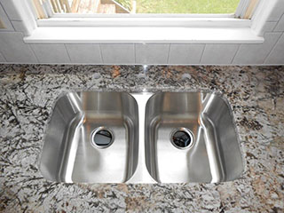 Sink Installation on Granite Countertop